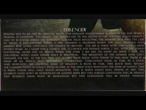 Woe Of Tyrants  Threnody LYRICS