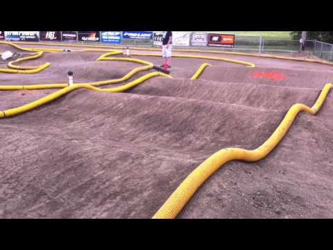 Doubles for RC track. Leisure Hours outdoor dirt track.  Joliet, IL.