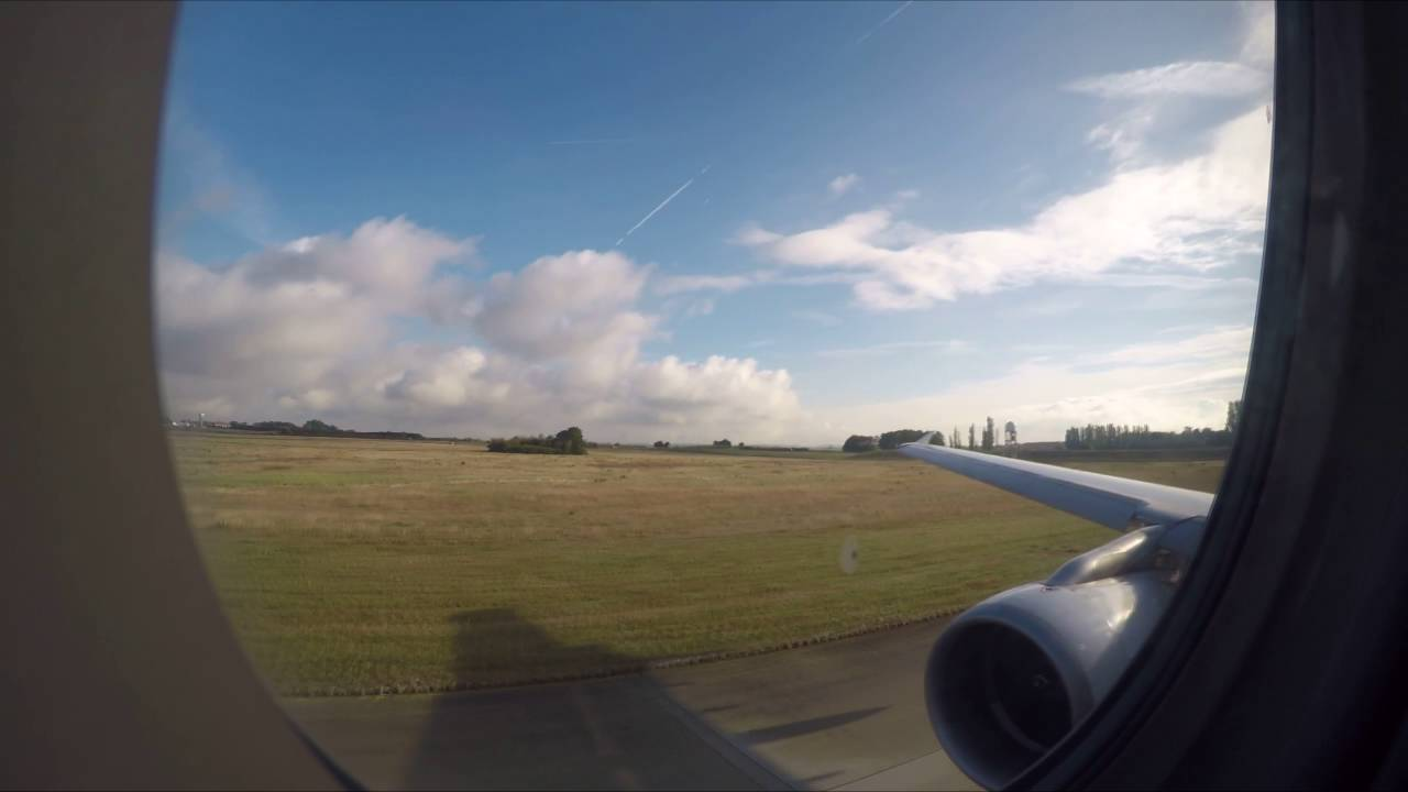 Af7720 A321 From Paris Cdg To Nantes Nte Gopro 4 Youtube