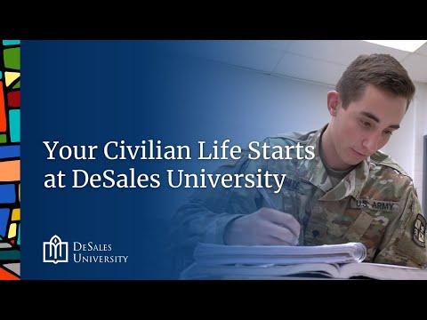 Your Civilian Life Starts at DeSales University