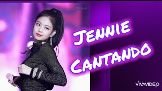 Jennie de BLACKPINK Cantando 😍 voz de Jennie