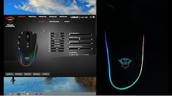 Trust GXT 188 Laban RGB Mouse LED Effects and Gaming Software