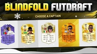 BLINDFOLD CHRISTMAS FUTDRAFT!!! Fifa 16 Legend FUT Draft