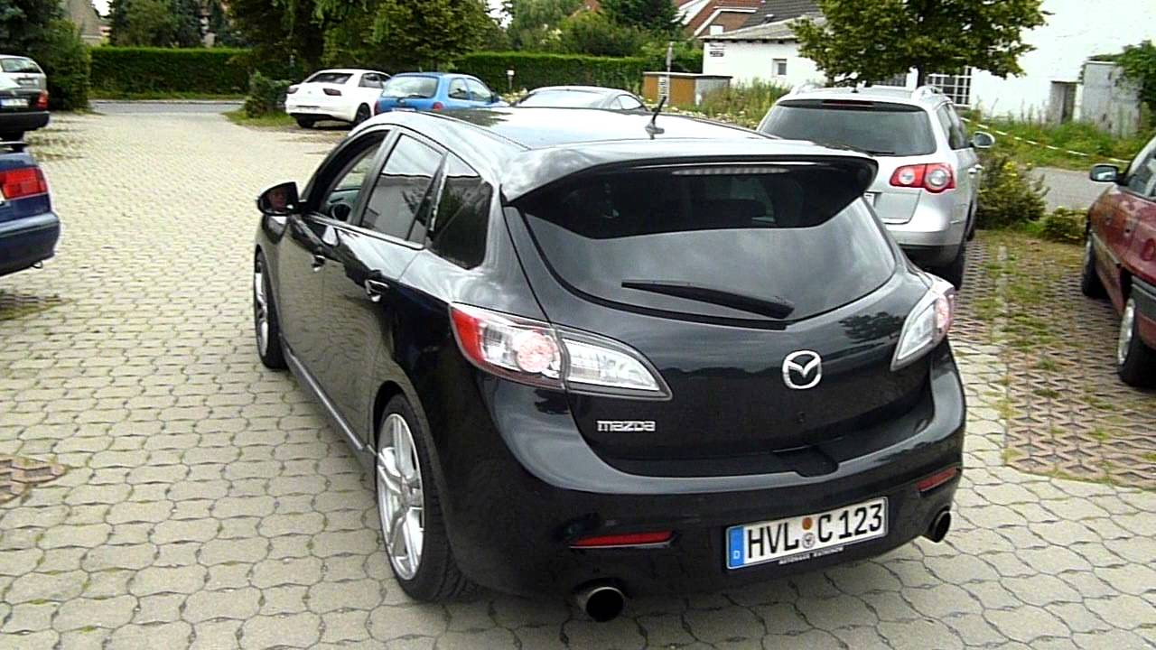 Mazda 3 MPS 2010 Sound - YouTube