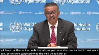 Live from WHO Headquarters - COVID-19 daily press briefing 15 MAY 2020