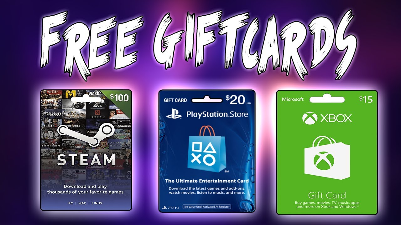 How To Get FREE Steam Giftcards (Legally & Legit!)