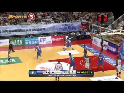 Jones Cup 2015: Gilas Pilipinas def. USA Select-Overtake, 78-74 (COMPLETE REPLAY VIDEO)