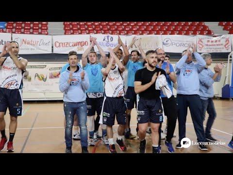 VÍDEO: El CB Ciudad de Lucena sigue la racha y gana 68-66 al Promesas Colegio Virgen del Carmen