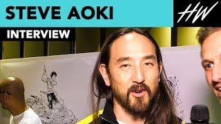 """Steve Aoki Breaks Records With BTS """"Waste It on Me"""" And Talks Cryo-Freezing His Body! 