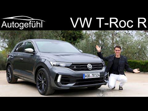 VW T-Roc R FULL REVIEW 300 hp - Autogefühl