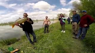 Супер рыбалка близ Алматы