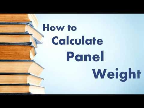 How to calculate electrical panel weight || Sheet metal calculation in kg.