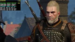 Witcher 3 PC - i7 8700K GTX 1080 - 1080p
