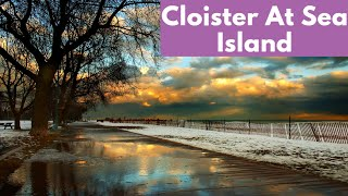 Cloister At Sea Island