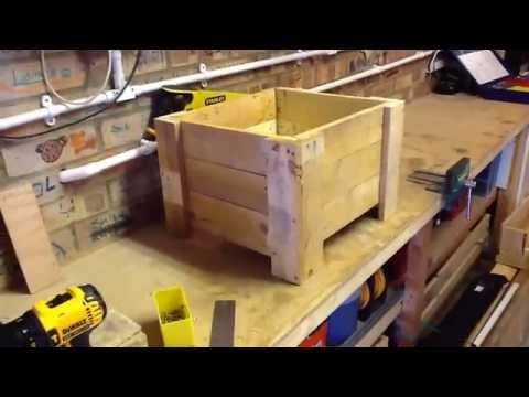 Reclaimed Wood Planter Box Eski G 246 R 252 N 252 Ml 252 Saksı Doovi