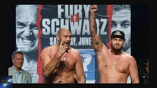 Tyson Fury Vs Tom Schwarz FIGHT PREDICTION - Las Vegas Nevada LINEAL TITLE 15 June 2019