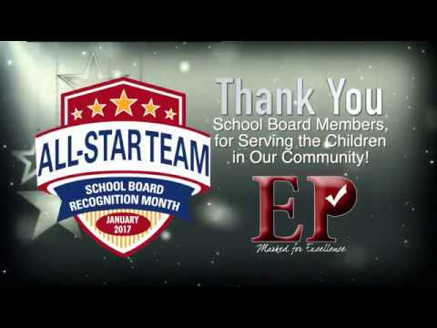 School Board Recognition Month JAN2017 - YouTube
