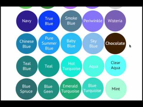 Cool Summer Color Palette - Bright, Cool & Medium - Seasonal Color Analysis