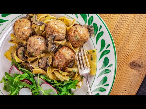How To Make Meatball Stroganoff By Rachael