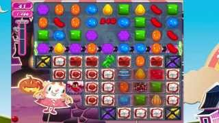 Candy Crush Saga Level 713 No Boosters HOW TO USE THE KEY!!