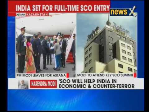 PM Narendra Modi reaches Astana, Kazakhstan to attend SCO summit