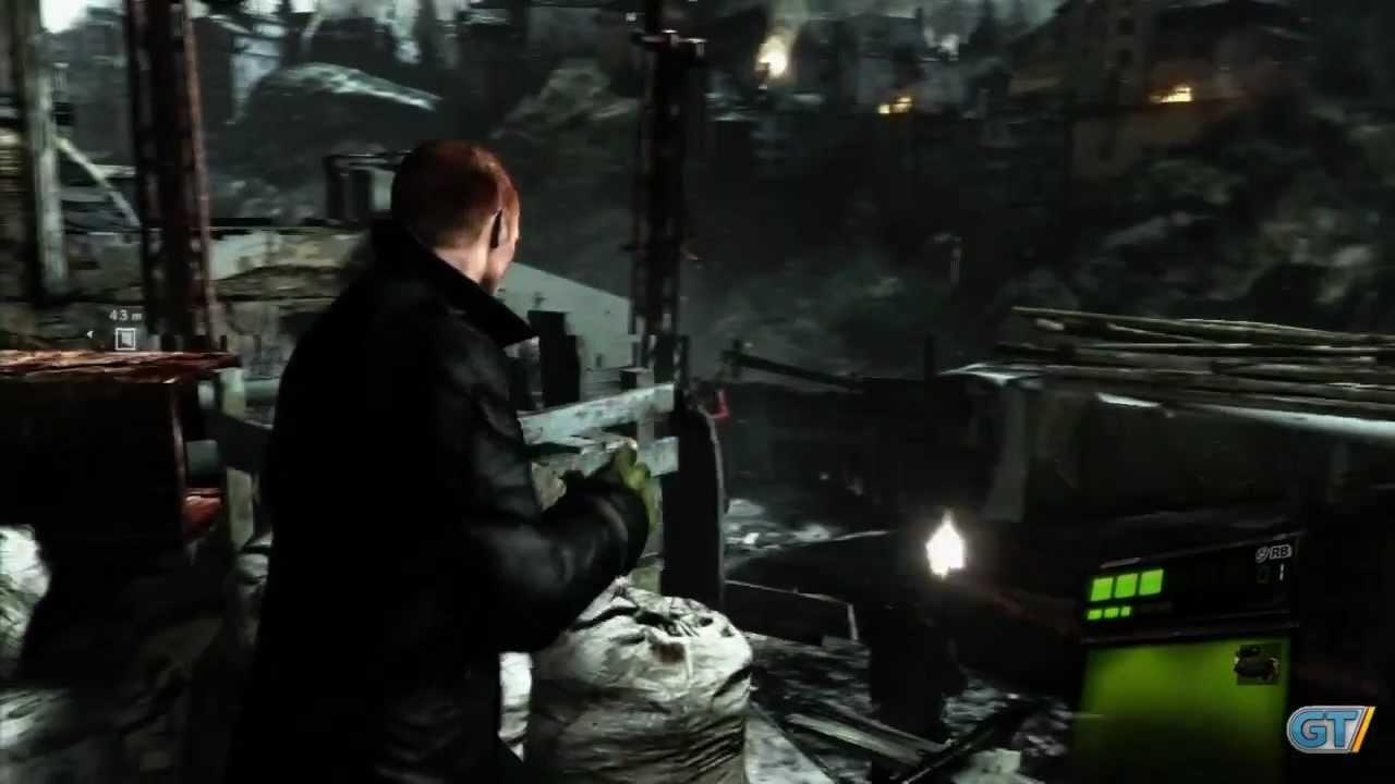 Resident evil 6 Infierno Campaña Sherry Capitulo 1 Rango S