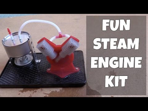 Mohoo Steam Engine Kit