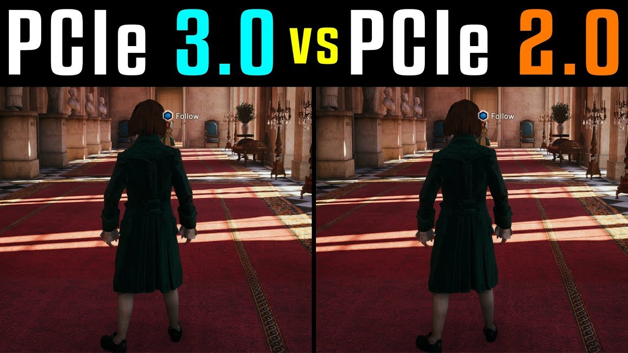 Pcie X16 2 0 Vs 3 0 Slots Tested In 4 Games 1440p Gtx 1070 Youtube