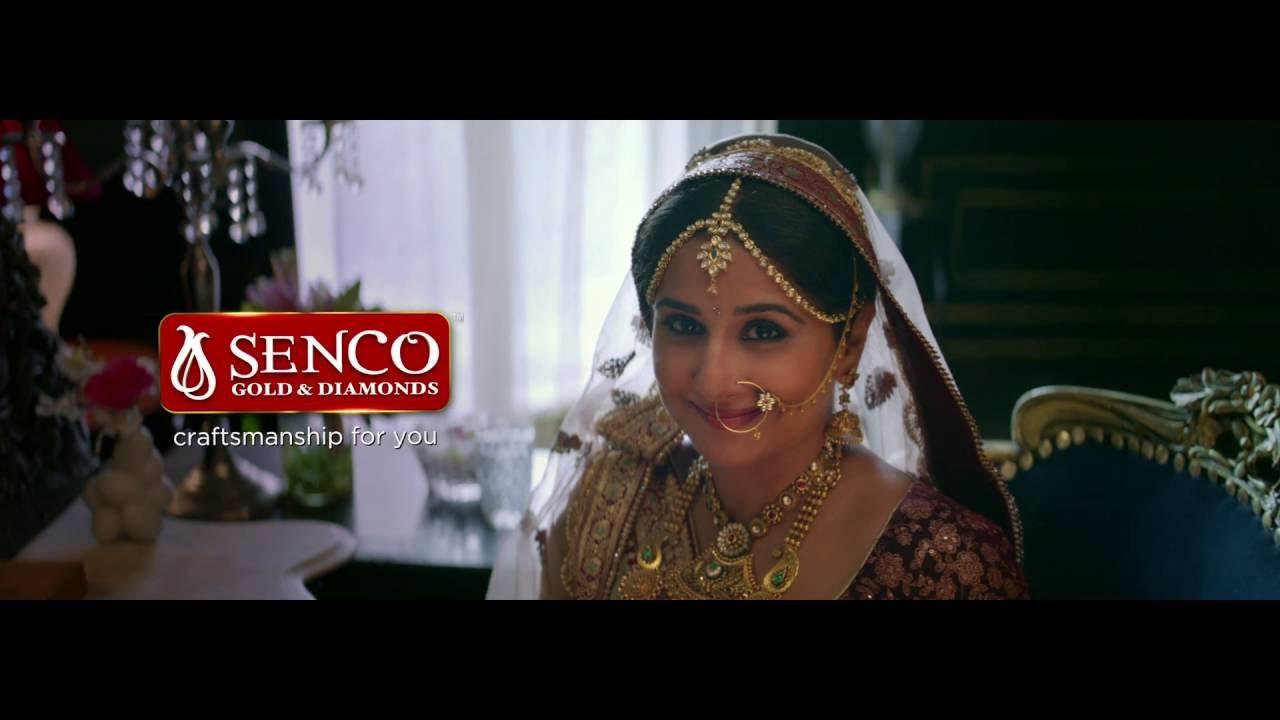 SENCO / VIDYA BALAN - YouTube