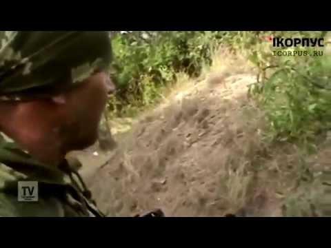 Ополчение  Перестрелка Ополченцев с Нац.Гвардией 4.08.14