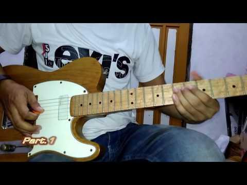 bukan cinta manusia biasa (Dewa 19) gitar solo tutorial
