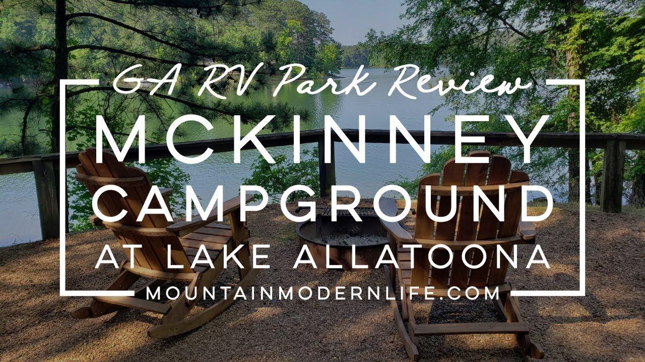 GA RV Park Review: Mckinney Campground at Lake Allatoona ...