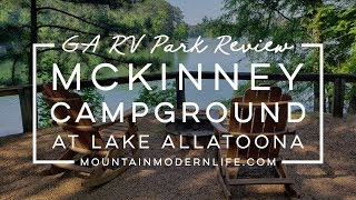 GA RV Park Review: Mckinney Campground at Lake Allatoona