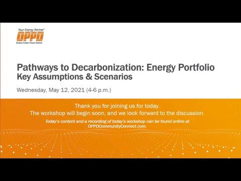 May 12, 2021, Workshop 3: Developing Key Assumptions & Scenarios