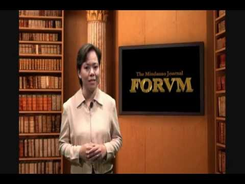 The Forum (The Mindanao Journal) - Jess Dureza episode