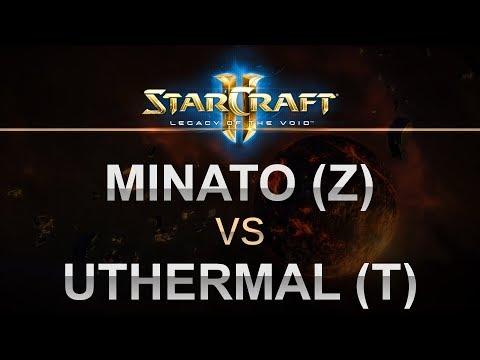 SC2 - LOTV 2017 - Minato (Z) v uThermal (T) on Sequencer