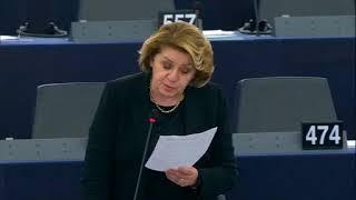 Intervento in aula di Caterina Chinnici sulle norme minime in materia di diritti, assistenza e protezione delle vittime di reato