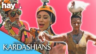 KARDASHIANS VS. THE OUTDOORS! | Keeping Up With The Kardashians
