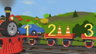 Repeat youtube video Learn to Count with Shawn the Train  -  Fun and Educational Cartoon for Kids