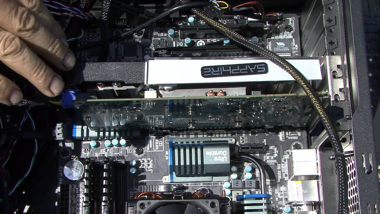 How to install your Sapphire HD 7770 Vapor X video card ...