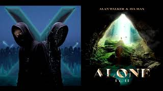 Download Alone Pt. II ✘ Unity [Remix Mashup] - Alan Walker & Ava Max (Alan x Walkers)