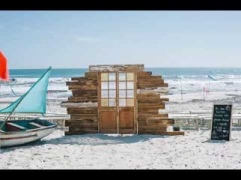 Simple Diy beach wedding decor ideas - YouTube