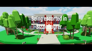 ROBLOX | Being Escorted by security at SizzleBurger
