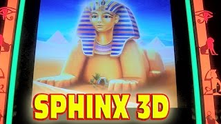 NEW SLOT MACHINE - Sphinx 3D MAX BET Bonus - 20 Free Games Win