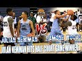 (EXCLUSIVE) Julian Newman Shuts NEO Down By Hitting Game Winner at Buzzer In AllStar Game