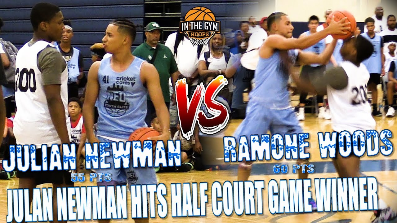 3637323c2d81 (CLASSIC) Julian Newman Hits GAME WINNING 3 from Half Court In AllStar Game