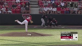 2018 NCAA Baseball Tournament Lubbock Regional Texas Tech vs Louisville 6 3 2018