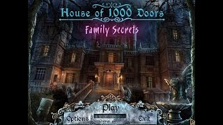[ House of 1,000 Doors: Family Secrets ] Hidden Object Game - FINAL
