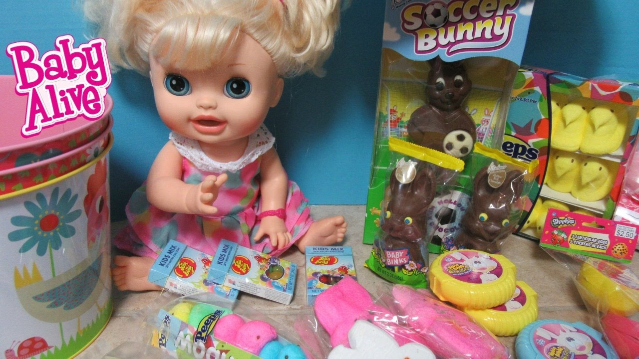 Baby Alive Target Easter Haul Real Surprises Doll Sophie