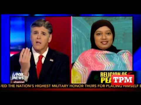 Hannity Confronts Muslim Student: Why  Didn't You 'Speak Out' Against Sharia?